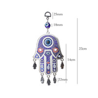 Fashion Evil Eye Nouvelle mode Ali Sword Islam Coran Home Hamsa Wall Suspendre