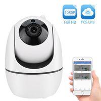 Cámaras 1080p inalámbricas 1920 * 1080 WiFi Cámara IP IP Inteligente Inicio Seguridad Vigilancia CCTV Red P6SPRO1