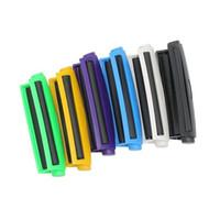110 mm de largo rodillo de cigarrillo máquina de rodadura de papel filtro de cono de plástico colorido manual de mano de mano de mano para fumar accesorios para fumar