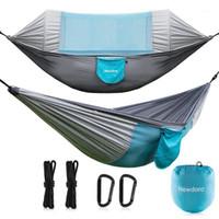 Freizeit Reise Moskitonetz Hängematte Outdoor Camping Möbel Garten Swing Chair Tragbare Hängende Bettwohnheim Weiche Bett Gifts1