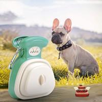 Taşınabilir Pooper Scooper Genişletilebilir Köpek Pooper Scooper Carabiner Poop Scooper Köpekler Için Köpekler Için Kaka Kepçe Atık Torba