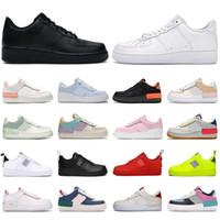Nouveaux chaussures de plate-forme pour hommes Femmes Fashion Sneakers Shadow Triple Blanc Pastel pâle Bleu d'Hydrogène Blue Hydrogen Hommes Baskets Casual Tennis Chaussure