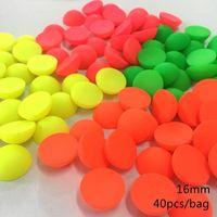 Diğer MeideHeng ABS Yarım Direk Floresan Renkli Boncuk Takı Yapımı Için DIY Çocuk Kolye Bilezik Aksesuarları 16mm 40 Adet1