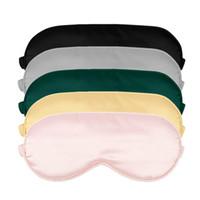 100% 3D Sleep Sleep Máscara Natural Dormir Máscara Eye Eyeshade Cobertura Sombra Olho Patch Soft Portable Blindfold Travel