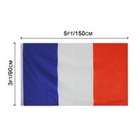 Франция Французские флаги Страна национальные флаги 3'X5'FT 100D полиэстер яркий цвет высокого качества с двумя латунными втулками
