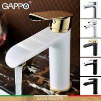 Gappo Basin Wasserhaare Schwarz Waschbecken Mischer Weiß Badezimmer Wasserhahn Mischer Wasserfall Mischer Badezimmer Waschbecken Wasserhahn Griferia Torneira1