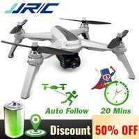 بدون طيار JJRC JJPRO X5 X5P 5G المهنية RC بدون طيار مع WiFi FPV 2K 4K HD كاميرا فرش GPS لتحديد المواقع الارتفاع عقد كوادكوبتر