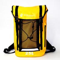 مارجاوي حقيبة مزدوجة الكتف للماء في الهواء الطلق خفيفة جدا المحمولة عالية القوة حقيبة التخزين السباحة للماء