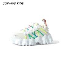 CCTWINS Детская обувь 2020 Весенние Детские Девушки Меша Тренеры Детские Моды Спортивные кроссовки Мальчики Бренд Повседневная Обувь FS33243 Y1118