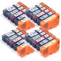Cartucce d'inchiostro 20x PGI-525 CLI-526 XL per Canon Pixma IP4850 IP4950 MG5150 MG5250 MG5350 MG6150 MG6220 MG6250 MG8150