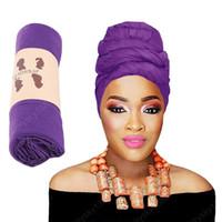 Kadın Müslüman Uzun Kuyruk Eşarp Şapka Sıkı Jersey Türban Kemo Kap Saç Dökülmesi İslam Headwrap Kafa Kapak Wrap Caps Bonnet Şapka Yeni