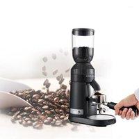 طاحونة القهوة الكهربائية طاحونة إيطاليا الفاصوليا المنزل استخدام التجاري 25 توقف قابل للتعديل 250 جرام القدرات القلادة BURR1