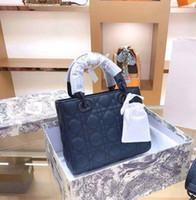 Лучшие продажи основные дамы элегантные сумки мода бренда одно плечо алмазная решетка сумочка из натуральной кожи кожаный мешок