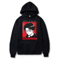Attaque sur Titan Hoodie Wings of Freedom Mikasa Mens Sweats Sweatshirts Japonais Anime Sharinki No Kyojin Cosplay Costume F1209