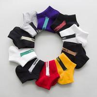 10 paires / lot femmes hommes chaussettes chaussettes coton doux pour dames basketball sport noir printemps blanc de style européen de mode de mode neuve