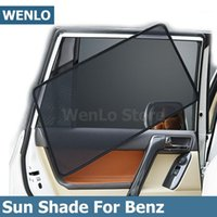 Sombrilla de la ventana del lado del coche magnético de 4 unids para una Clase B E S W169 W222 W246 W245 W222 W213 W212 l Shade Sun Mesh Cover1