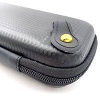 En iyi Fiyat X6 Fermuar Durumda Çift Ego Evod X6 Çanta Için Stick V8 Vape Kalem 22 Kutu Mod Araçları Kiti Buharlaştırıcı E Sigara Deri Kılıf