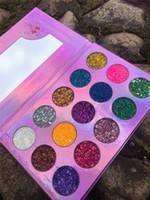 Новейшие горячие палитра макияжа 15 цветов мерцание блеск глиттер Unicorn мечта для теней для век высокое качество