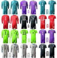 Portero David de Gea España Portero Kids Arrizabalaga Soccer Jersey Set Iker Casillas Unai Simon Pepe Reina Football Shirts Kits
