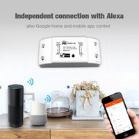 DIY WIFI SMART SMART LUMIÈRE SUPPORT UNIVERSILE TIMER SANS LA TIMER SANS FIL FONDS AVEC ALEXA Google Home Smart Home Home