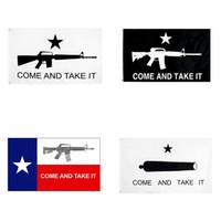 Kommen Sie und nehmen Sie es mitnehmen Flaging 90 * 150cm 3x5 ft Gonzales Banner Texas Flagge USA Banner Flagge W-00526