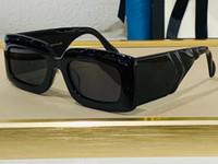 여름 0811 여성을위한 선글라스 스타일 안티 - 자외선 레트로 플레이트 광장 전체 프레임 패션 안경 무작위 상자