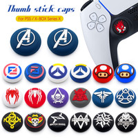Skull Thumb Grips Joystick grip Caps Cover Silicone Protective cap for Playstation 5 PS5 PS4 Xbox 360 One series X S Controller Accessories