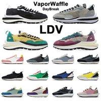 Nuevo Vaporwaffle LDV Waffle Daybreak Zapatillas de correr Undercover Nylon Negro Blanco Gusto Gusto Pine Green Mens Women Trainer Sports Sneaker