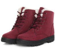 S kış ayak bileği çizmeler kadınlar için kış ayakkabı kadın kar botları botas mujer sıcak