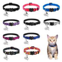 Emniyet Buzaway Kedi Yaka Hızlı Yayın Yavru Yaka Kişiselleştirilmiş Özel Kediler Yaka Kolye Kedi Kitty Köpek Için Çan Ile