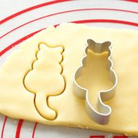 Cookie cortadores moldes liga de alumínio fofo forma animal biscoito molde diy fondant pastelaria decorando cozimento ferramentas de cozinha ppf4041
