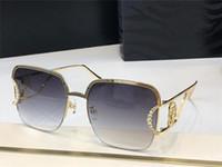 2030 Nuevas gafas de sol de alta gama Popular Moda Fashion Special Mill Frame Style Half Frame Style Anti-Ultraviolet Glasses Marco completo Caja de envío