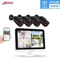 Anran 13 بوصة AHD DVR نظام الأمن CCTV 1080P Analog HD كاميرا في الهواء الطلق نظام مراقبة الفيديو IR للرؤية الليلية كاميرا الكاميرا 1