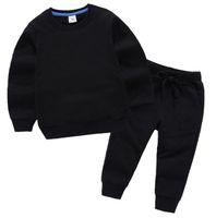 Nuovo Baby Luxury Logo Designer Boy Girl T-Shirt Pantaloni By-Piece Suit Bambini Brand Brand Bomboniere 2pcs Abbigliamento in cotone Set di abbigliamento di cotone 1-8T ANNI Set di enfants
