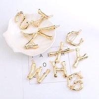 Haar Clips Barrettes Miss JQ 26 Letters Clip Gouden Branch Bot Letter Haarspelden 2021 Mode Creatieve Ontwerp Sieraden Gift Accessoires