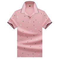 Ropa de marca Hombre Camisa Rayado Casual Camiseta Tops Tops Alta Calidad Slim Fit Polos 2021 Nuevo Hombre 8320