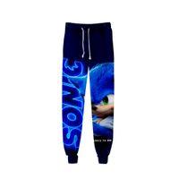 2020 Унисекс аниме Sonic The Hedgehog пот брюки 3D Joggers брюки брюки мужские / женщины одежда хип-хоп Pantalon Homme спортивные штаны 1220