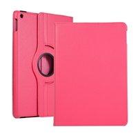 9.7 pollici Tablet Custodia per laptop per iPad mini 4 5 AIR2 Antifurto a 360 gradi girevole pieghevole folio stand Moda in pelle protettiva