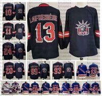 2021 New York Rangers 13 Alexis Lafrenière Hockey Jersey 24 Kaapo Kakko 10 Artemi Panarin Chris Kreider Mika Zibanejad Gretzky Messier Shirt