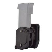 9 мм Тактический журнал Pougha Pougho Pistol Bag Многоугольная скорость HOMSER MAG BOSH для IPSC USPSA IDPA Съемки соревнований 1.5 '' пояс (черный)