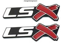 زوج واحد LSX شعار جذع شارة لكامارو كورفيت LS SS Silverado