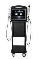 Новые 2 in1 4d Hifu 12 линий машины V-Max Radar Hifu Лифтинговая кожа, затягивая антивозрастное тело для похудения.