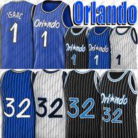 Tracy 1 McGrady Jersey Penny 1 jerseys Hardoway Orlando Jersey Jonathan 1 Isaac Jersey Retro Vintage Basquetebol Uniformes