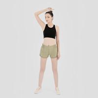 Йога шорты женские бегающие шорты дамы случайные наряды йоги взрослые спортивные одежды девушки тренировки фитнес одежда