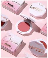 Qibest Face Matte Blush Paleta 6 Color Cheek Blusher Polvo Maquillaje Rouge Mineral Pigmento Cosmetics Largo Duradera Maquillaje natural