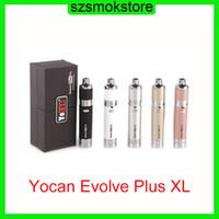 Yocan Evolve Plus XL Wax Dab Kit 1400mAh Bateria com Bobina Quad Destacável Compartimento Dual Compartimento de Silicone 0268064-1