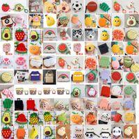 3D carino cartone animato cartone animato animale da frutto per Apple Airpods Case Airpod 2 3 Pro Auricolare Caricabatterie scatola protettiva Cover protettiva Accessori per cuffia