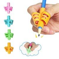 실용적인 펜 연필 홀더 키즈 서핑 그립 자세 보정 도구