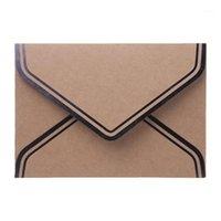 10 stücke Retro Vintage Leeres Handwerk Papier Umschläge für Buchstaben Grußkarten Hochzeit Einladungen 125x175mm Q6PA1