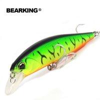 Bearking 100mm 14.5g, 5pcs / .lot. Bear King 2015 Buenos señuelos de pesca Minnow, Calidad Profesional Minnow Y200828